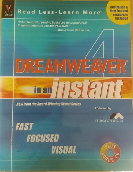 Dreamweaver in an Instant