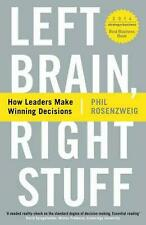 Left Brain Right Stuff - Phil Rosenzweig