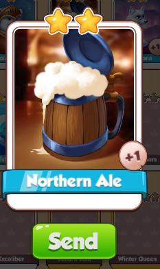 Northern Ale Card - Ice Queen Set - from Coin Master Cards