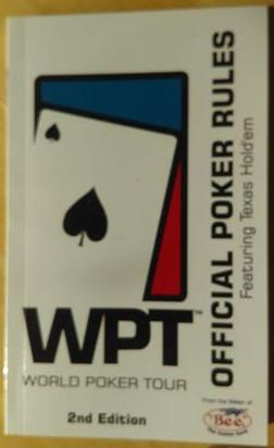 Official Poker Rules - WPT