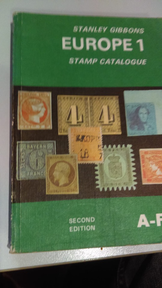 Stanley Gibbons Europe 1 Stamp Catalogue A-F