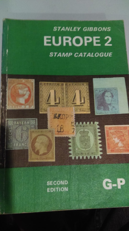 Stanley Gibbons Europe 2 Stamp Catalogue G-P