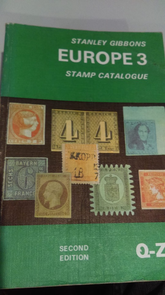 Stanley Gibbons Europe 3 Stamp Catalogue Q-Z