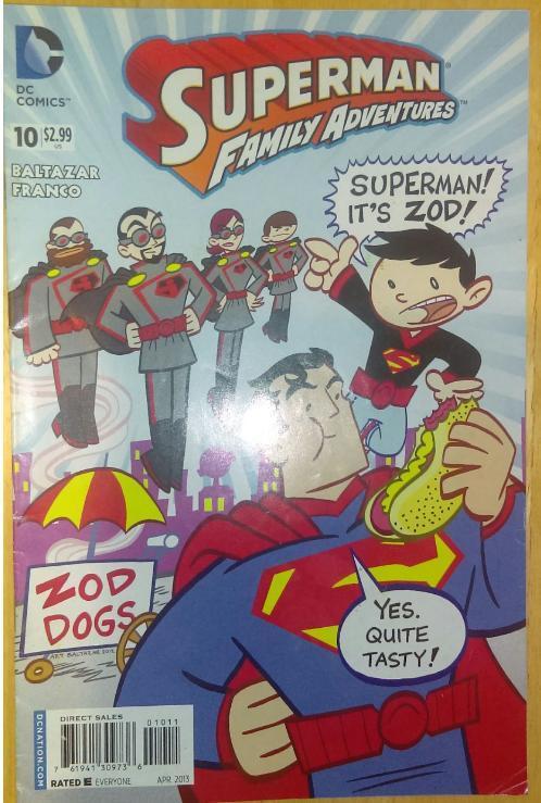 Superman Family Adventures 10 Comic